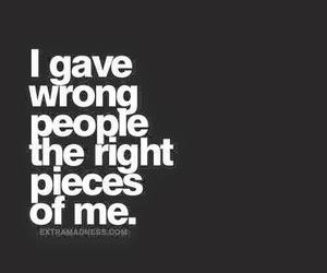 people, quotes, and wrong image
