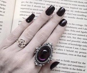goth and rings image