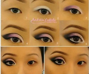 asian, makeup, and maquiagem image