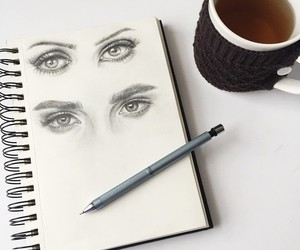 art and eyes image