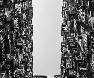 architecture, bnw, and building image