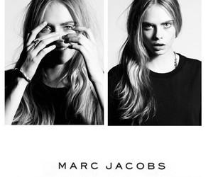 model, marc jacobs, and cara delevingne image