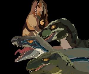 Jurassic Park, owen, and t rex image