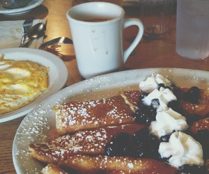 breakfast, crepes, and coffe image