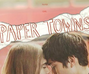 paper towns, john green, and cara delevingne image