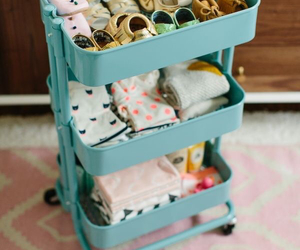 baby blue, mini, and room image