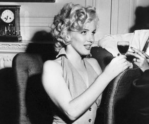 Marilyn Monroe and MM image