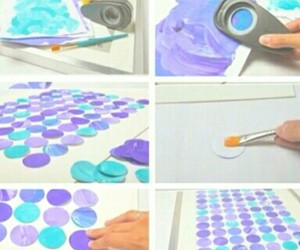 diy, blue, and purple image