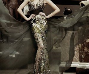 dress, luxury, and expensive image