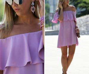 accessories, dress, and earrings image