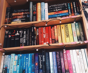 beautiful, books, and colours image