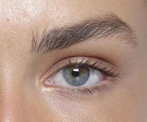 eye, beauty, and eyebrows image