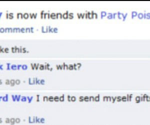 facebook, frank iero, and gerard way image