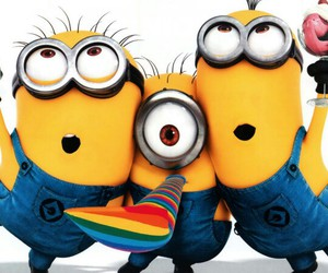 minions and party image