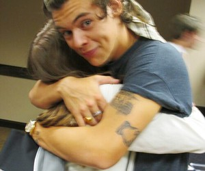 fan, hugs, and meet and greet image