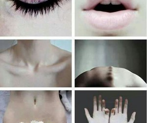 body, hand, and lips image