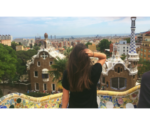 architecture, Barcelona, and black image