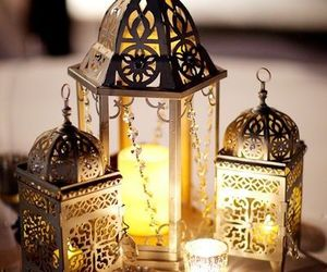 lanterns, lights, and رَمَضَان image