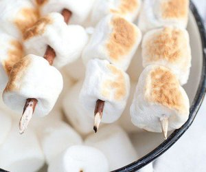 food, marshmallow, and delicious image