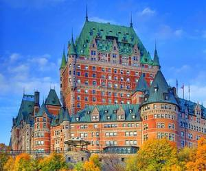 quebec, canada, and castle image