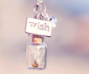 wish, photography, and bottle image