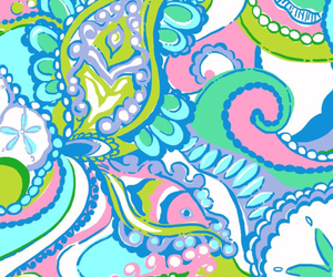 iphone wallpaper, lilly pulitzer wallpaper, and preppy image