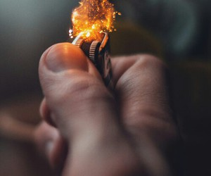 fire, indie, and lighter image