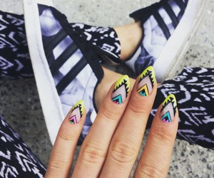 nails, fashion, and sport image