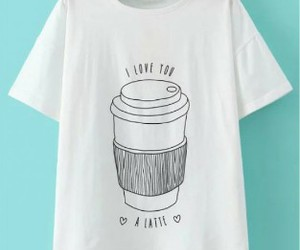 coffe, good, and t-shirt image