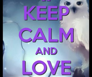 harry potter, hp, and keep calm image