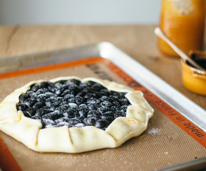 bake, galette, and grape image