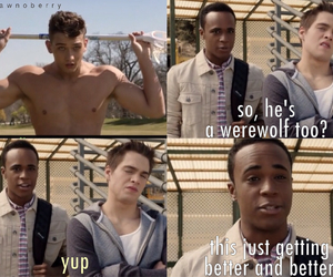 funny, werewolf, and teen wolf image