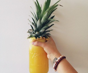 pineapple, summer, and drink image
