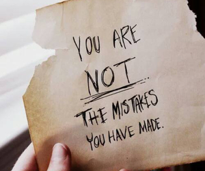 quotes, mistakes, and life image