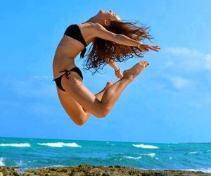 beach, sea, and wonderful image