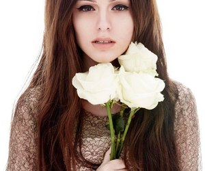 cher lloyd, flowers, and rose image