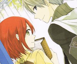 shirayuki, akagami no shirayukihime, and anime image