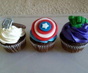 Avengers, captain america, and chocolate image