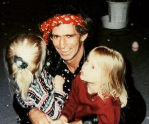 daddy, Keith Richards, and sweet image
