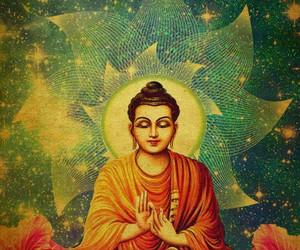 Buddha and meditation image