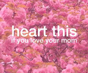 mom, love, and heart image
