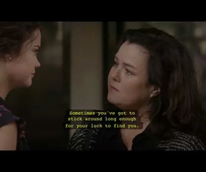 quote, callie, and the fosters image