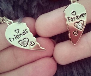 forever, necklace, and friends image