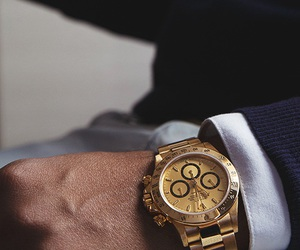 watch, luxury, and men image