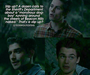 bromance, funny, and teen wolf image