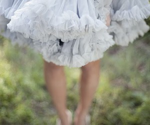 dress, blue, and tulle image