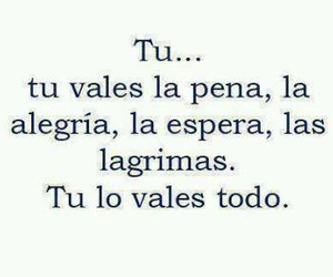 love, tu, and frases image