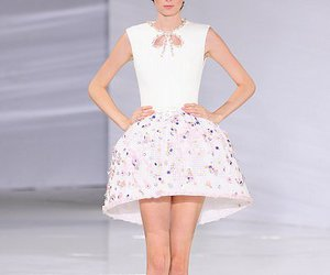 dress, floral, and Georges Hobeika image