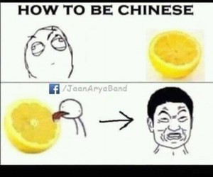 funny chinese respect image