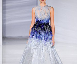haute couture, dress, and Georges Hobeika image